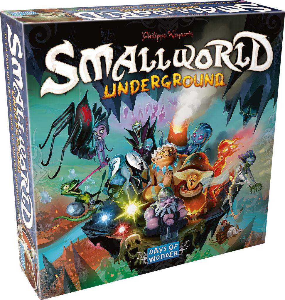 Smallworld - Jeu Days of Wonder - Smallworld Underground ...