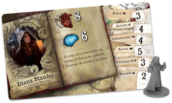 Fantasy Flight Games - Les Demeures de l'Épouvante - Les Rues d'Arkham