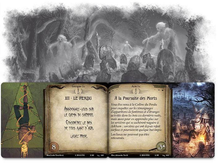 Fantasy Flight Games - Horreur à Arkham JCE Le Salaire du Péché