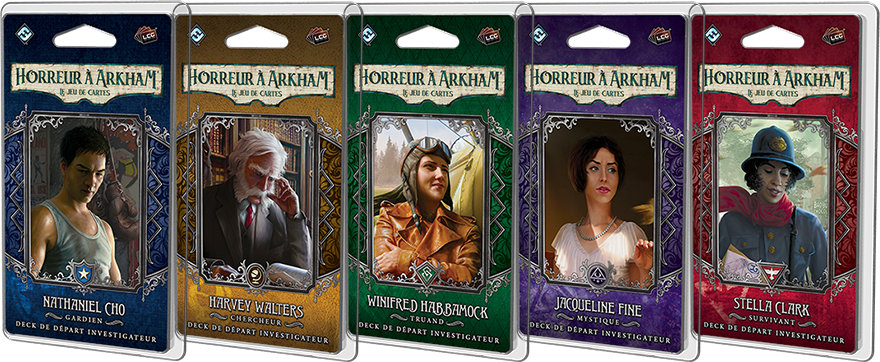 Fantasy Flight Games - Harvey Walters, Chercheur (Deck Investigateur)