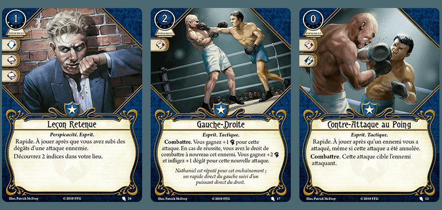 Fantasy Flight Games - Nathaniel Cho, Gardien (Deck Investigateur)