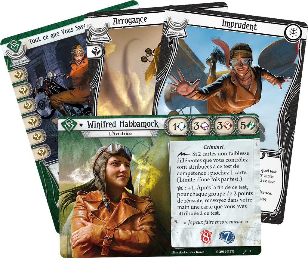 Fantasy Flight Games - Winnifried Habbamock, Truand (Deck Investigateur)