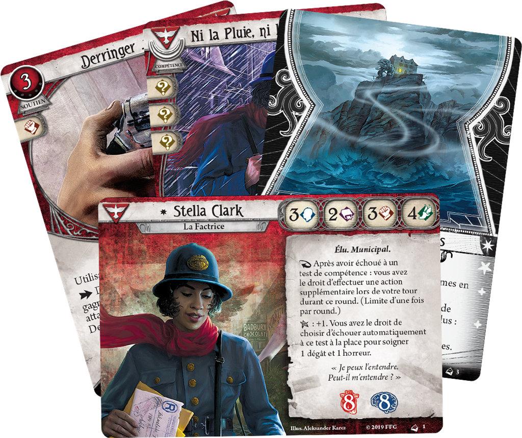 Fantasy Flight Games - Stella Clark, Survivant (Deck Investigateur)