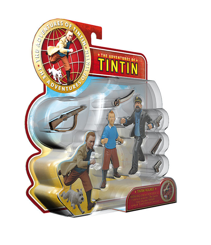 Tintin Figurine N94 chester  coque plastique sans livret